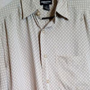 Liz Claiborne 100% Silk Button Up Shirt sz M